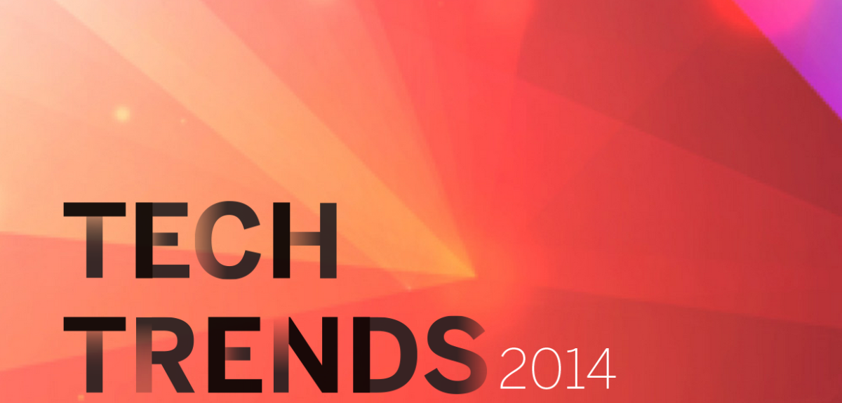 Tech trends that may take over in 2014
