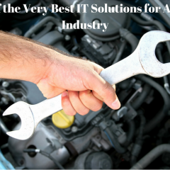 5 of the Very Best IT Solutions for Auto Industry