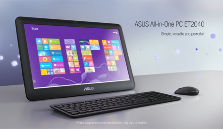 Asus launches its new All-in-one PC Asus ET2040