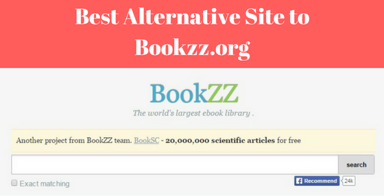 best alternative site to Bookzz.org