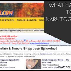 What happened to NARUTOGET.COM? Why is it not working?