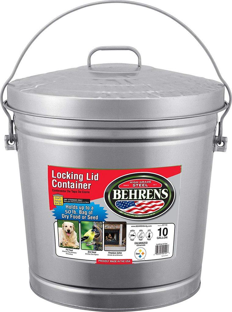 behrens trash can black friday deals