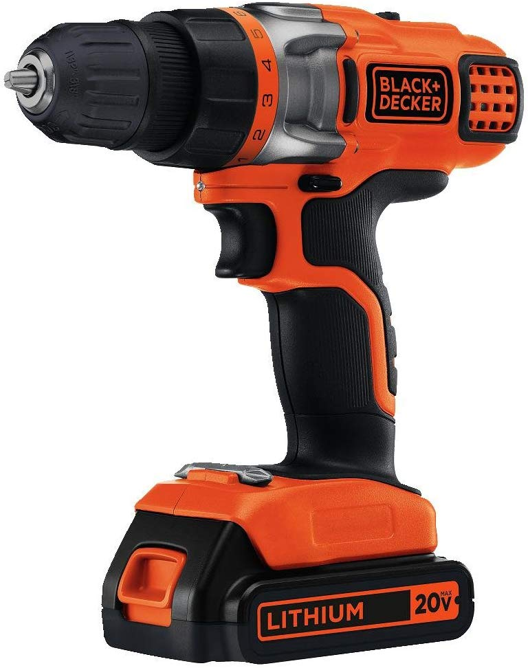 black+decker cordless drill black friday