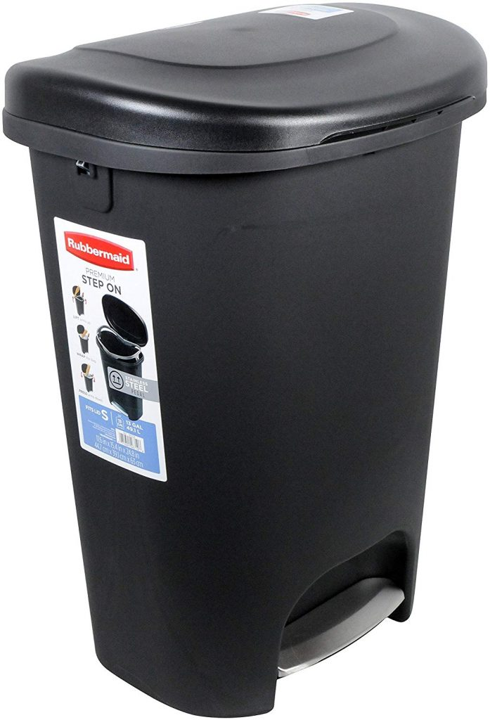rubbermaid trash can black friday